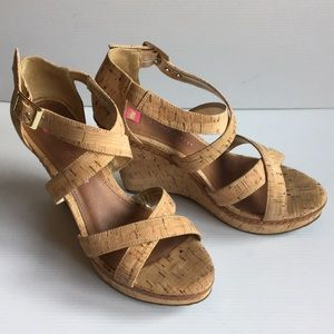 Elaine Turner Katherine Strappy Wedge